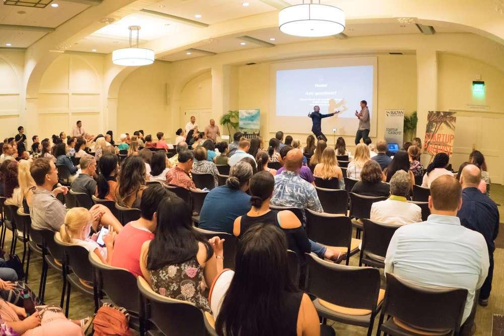 Sultan Ventures- Photo of Presentation at InnovateHer